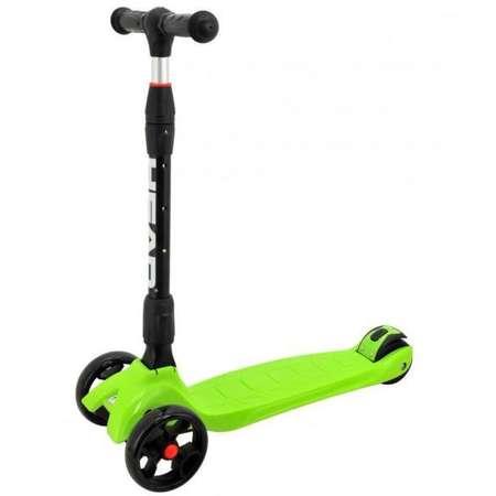 Tricicleta copii HEAD H6 MK 1L 130MM CU LUMINI MK GREEN