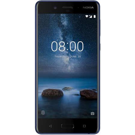 Smartphone Nokia 8 64GB Single SIM 4G Tempered Blue