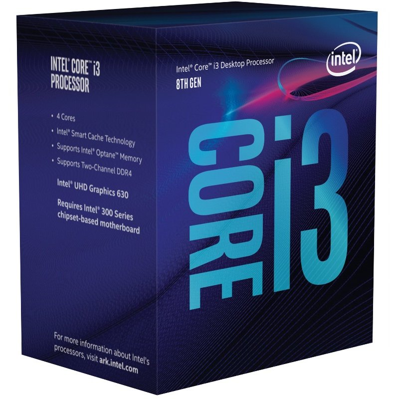 Procesor Core i3-8100 Quad Core 3.6 GHz Socket 1151 BOX thumbnail