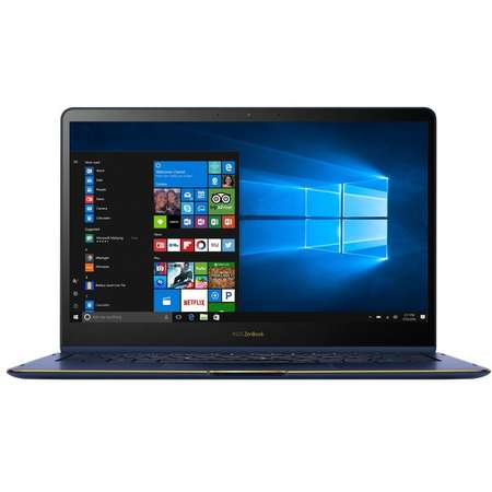 Laptop Asus ZenBook Flip S UX370UA-C4195R 13.3 inch Full HD Touch Intel Core i7-8550U 16GB DDR3 512GB SSD Windows 10 Pro Royal Blue