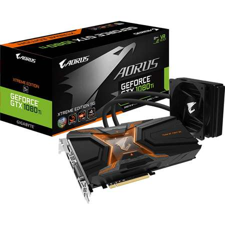 Placa video Gigabyte AORUS GeForce GTX 1080 Ti Waterforce Xtreme Edition 11GB DDR5X 352bit