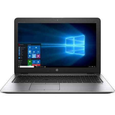 Laptop HP EliteBook 850 G4 15.6 inch HD Intel Core i5-7200U 8GB DDR4 500GB HDD FPR Windos 10 Pro Silver