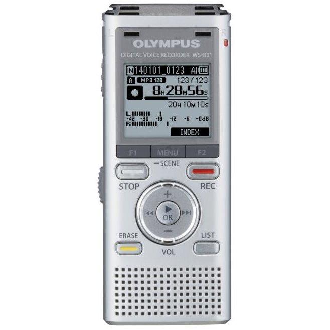 Reportofon stereo WS-852 4GB Silver thumbnail