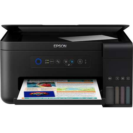 Multifunctionala Epson L4150 Color A4 Wi-Fi Negru