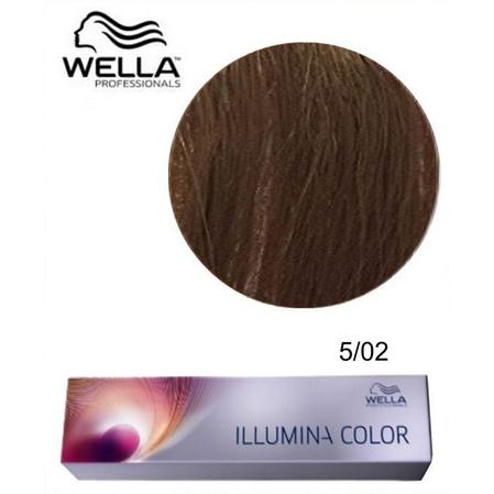 Vopsea De Par Permanenta Wella Professional Illumina Color 502
