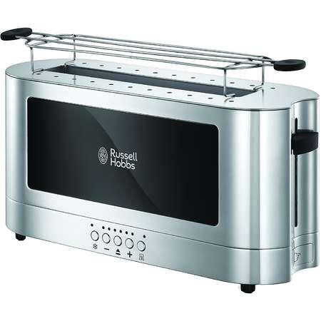 Prajitor de paine Russel Hobbs 23380-56 Elegance 1420W Argintiu