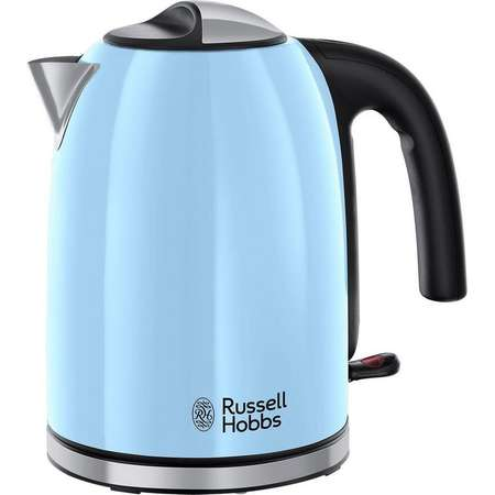 Fierbator Russel Hobbs 20417-70 Colours Plus 2400W 1.7l Heavenly Blue