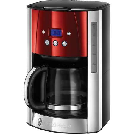 Cafetiera Russel Hobbs 23240-56 Luna Solar Red 1000W 1.5l