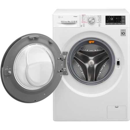Masina de spalat rufe LG F4J7JY2W 10 kg 1400 RPM Clasa A+++ Alb