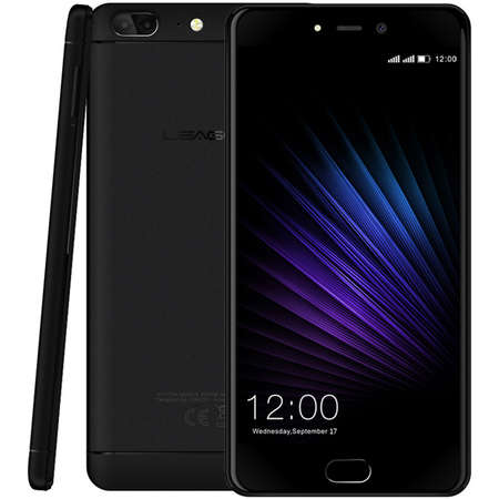 Smartphone Leagoo T5 64GB Dual Sim 4G Black