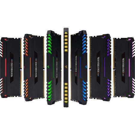 Memorie Corsair Vengeance LED RGB 16GB DDR4 3000 MHz CL16 Dual Channel Kit