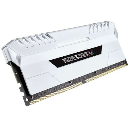 Memorie Corsair Vengeance White LED RGB 128GB DDR4 3000 MHz DDR4 CL16 Octa Channel Kit