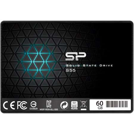 SSD Silicon-Power Slim S55 Series 60GB SATA-III 2.5 inch