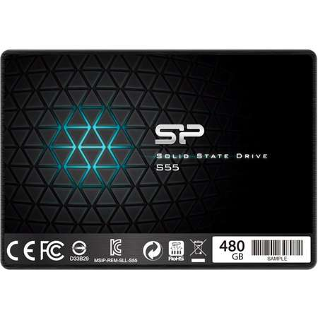 SSD Silicon-Power Slim S55 Series 480GB SATA-III 2.5 inch