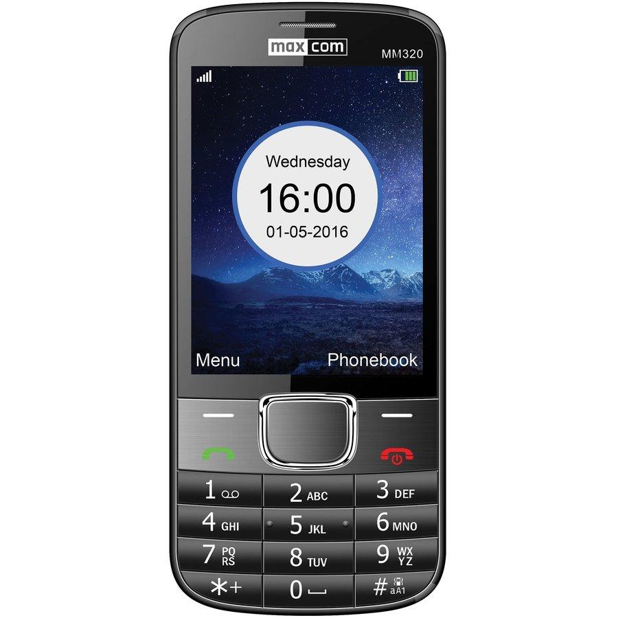 Telefon mobil MM320 Black thumbnail