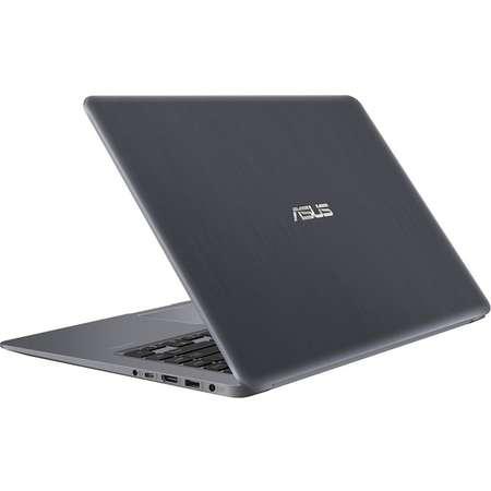 Laptop Asus VivoBook S15 S510UN-BQ175 15.6 inch FHD Intel Core i5-8250U 4GB DDR4 1TB HDD nVidia GeForce MX 150 2GB Endless OS Grey