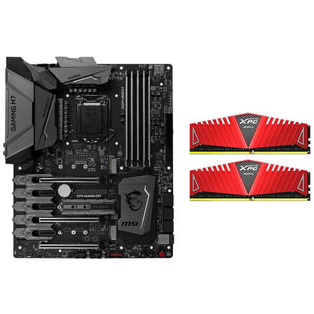 Placa de baza MSI Z270 GAMING M7 Intel LGA1151 ATX Bundle AX4U240038G16-DRZ