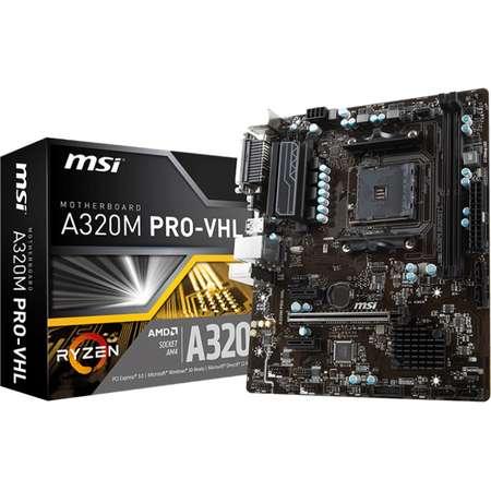 Placa de baza MSI A320M PRO-VHL AMD AM4 mATX