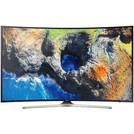 Televizor Samsung LED Smart TV Curbat UE49 MU6202 123cm Ultra HD 4K Black