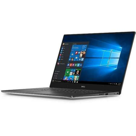 Laptop Dell XPS 15 9560 15.6 inch FHD Intel Core i7-7700HQ 16GB DDR4 512GB SSD nVidia GeForce GTX 1050 4GB Windows 10 Home Silver 3Yr NBD