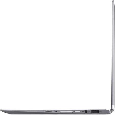 Laptop Acer Spin 1 SP111-32N 11.6 inch FHD Touch Intel Celeron N3350 4GB DDR3 64GB eMMC Windows 10 S Grey