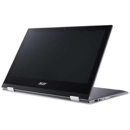 Laptop Acer Spin 1 SP111-32N 11.6 inch FHD Touch Intel Pentium N4200 4GB DDR3 64GB eMMC Windows 10 S Grey