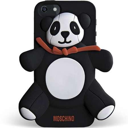 Husa Protectie Spate Moschino B7949 Agostino Negru pentru APPLE iPhone 5s, iPhone SE