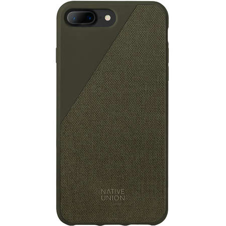 Husa Protectie Spate Native Union CCAV-OLI-CV-7P Canvas Verde pentru Apple iPhone 7 Plus