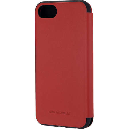 Husa Flip Cover Ferrari FEHDEFLBKP7RE Agenda Heritage Rosu pentru Apple iPhone 7, iPhone 8