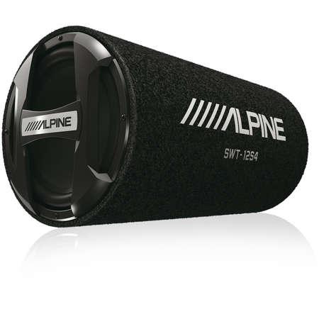 Subwoofer Auto Pasiv Amplificat ALPINE SWT-12S4 Tub Bass Reflex 300W RMS 12 inch 30 cm
