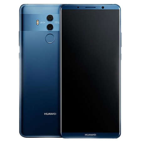 smartphone huawei mate 10 pro 128gb dual sim 4g blue. Black Bedroom Furniture Sets. Home Design Ideas