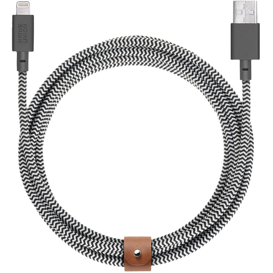 Cablu De Date Belt-kv-l-zeb-3 Belt 3m Usb Lightning
