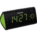 Radio cu ceas Sencor SRC 170 GN FM Black / Green
