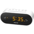 Radio cu ceas Sencor SRC 1100 W FM White