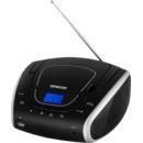 SPT 1600 BS CD/MP3/USB/FM Black / Silver