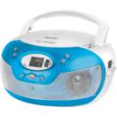 SPT 229 BU CD/USB/MP3 Radio AM/FM Blue / White