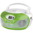 SPT 229 GN CD/USB/MP3 Radio AM/FM Green / White