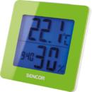 Termometru cu ceas desteptator Sencor SWS 1500 GN Green