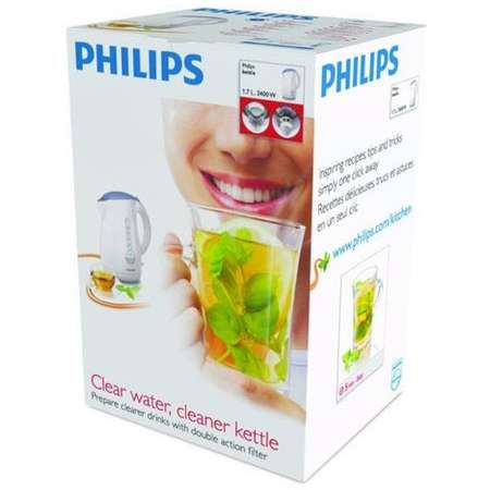 Ceainic Electric Philips HD 4677/40 1.7 Litri 2400W Alb