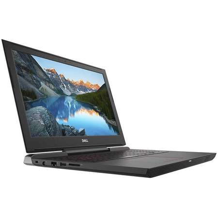 Laptop Dell Inspiron 7577 15.6 inch FHD Intel Core i7-7700HQ 8GB DDR4 1TB HDD 128GB SSD nVidia GeForce GTX 1050 Ti 4GB FPR Linux Black