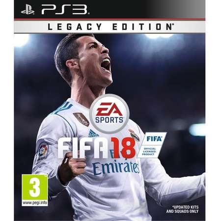 Joc consola EAGAMES FIFA 18 PS3 RO