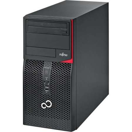 Sistem desktop Fujitsu Esprimo P556 MT Intel Core i5-7400 4GB DDR4 1TB HDD Black