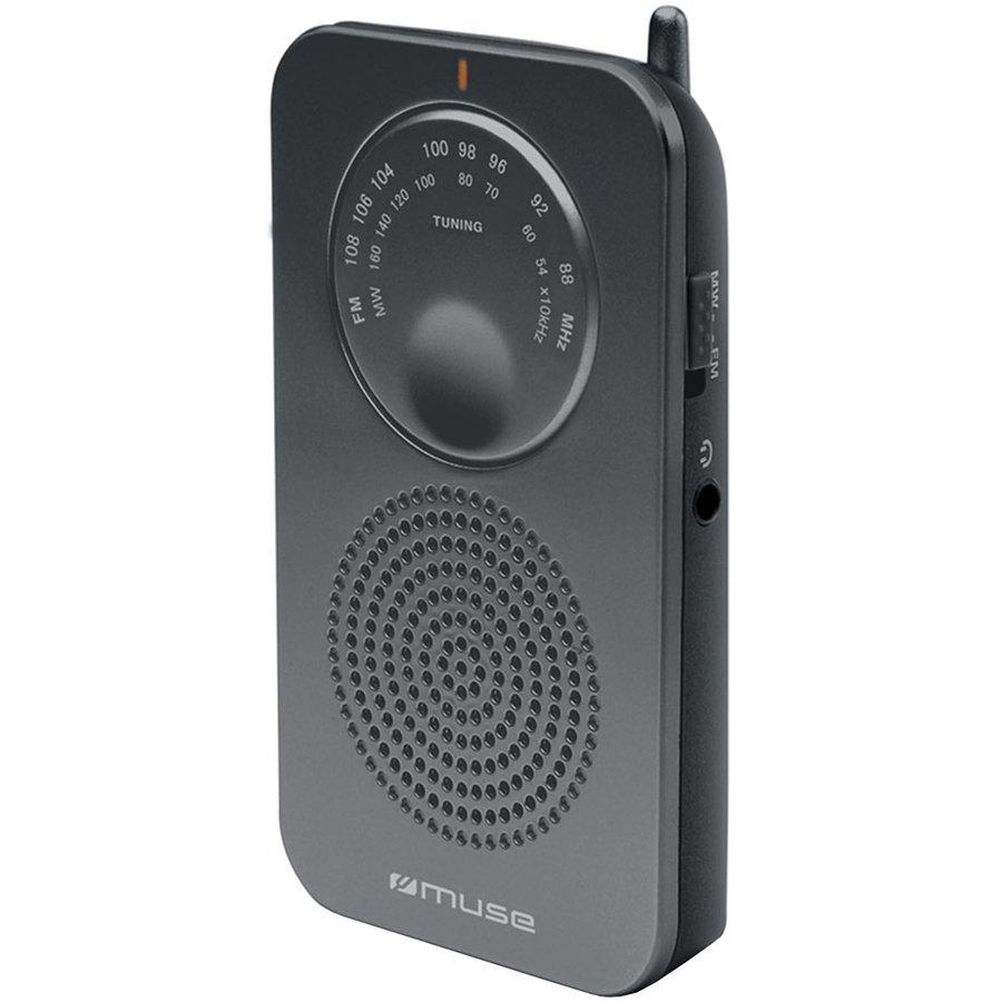 Radio portabil M-01 RS Negru