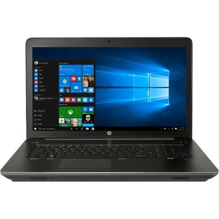 Laptop HP Zbook 17 G4 17.3 inch FHD Intel Core i7-7700HQ 16GB DDR4 256GB SSD nVidia Quadro M2200 4GB FPR Windows 10 Pro