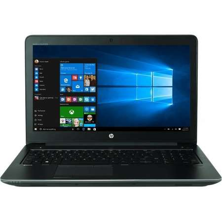 Laptop HP Zbook 15 G4 15.6 inch FHD Intel Core i7-7820HQ 16GB DDR4 1TB HDD 256GB SSD nVidia Quadro M2200 4GB FPR Windows 10 Pro Black