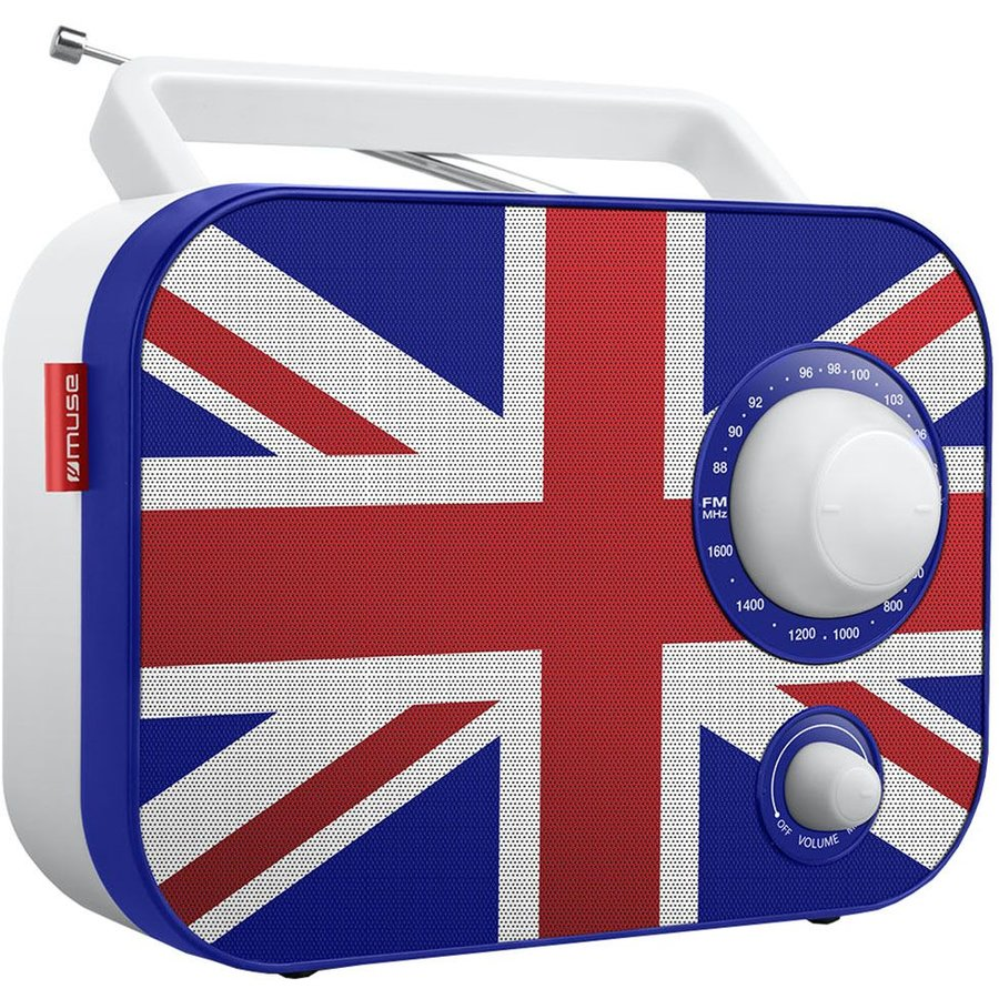 Radio portabil M-062 UK Alb thumbnail