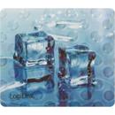 ID0152 3D Ice Cube Blue