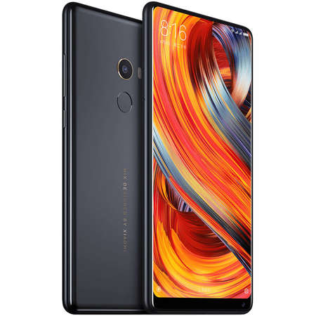 Smartphone Xiaomi Mi Mix 2 64GB 6GB RAM LTE Dual Sim 4G Negru