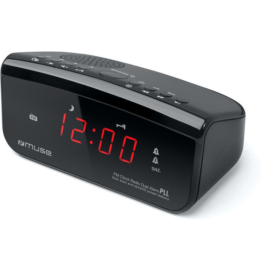 Radio cu ceas M-12 CR Black thumbnail