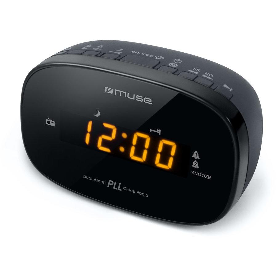 Radio cu ceas M-150 CR Black thumbnail